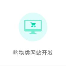 购物类网站开发