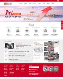 实业 集团网站 图文展示