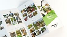园林设计折页设计