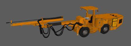 产品外观设计机械工程车3d建模设计效果图设计制作 贴图 制作