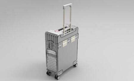 产品外观设计效果图设计制作定制拉杆箱设计