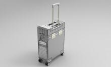 威客服务:[115765] 产品外观设计效果图设计制作定制拉杆箱设计