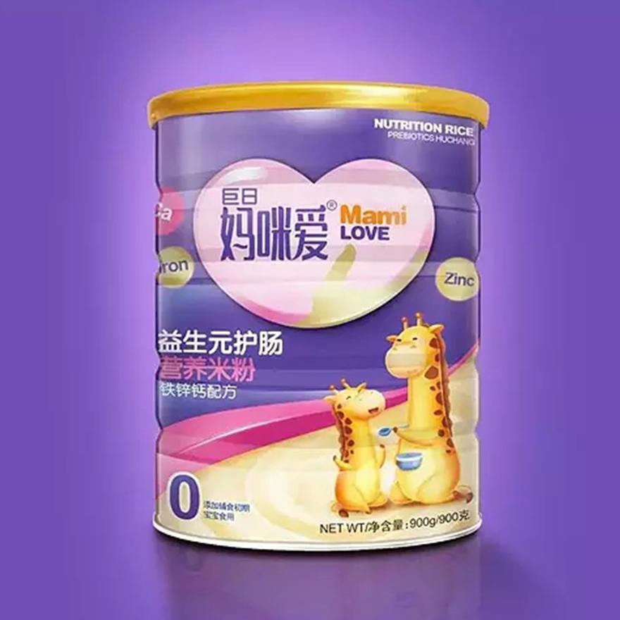 媽咪愛營養奶粉包裝設計