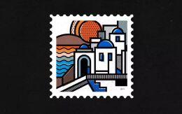 国外漂亮的插画邮票设计,创意有特色的邮票设计欣赏