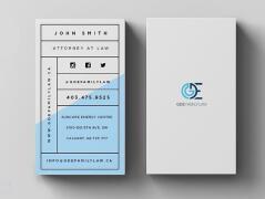 精致的国外名片设计,简约的国外名片设计免费模板