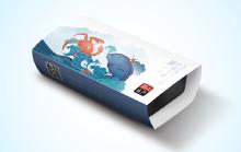 产品包装设计/富山水产包装设计