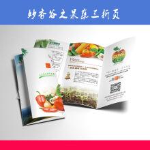 妙香谷三折页