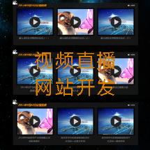 视频直播监控类网站开发