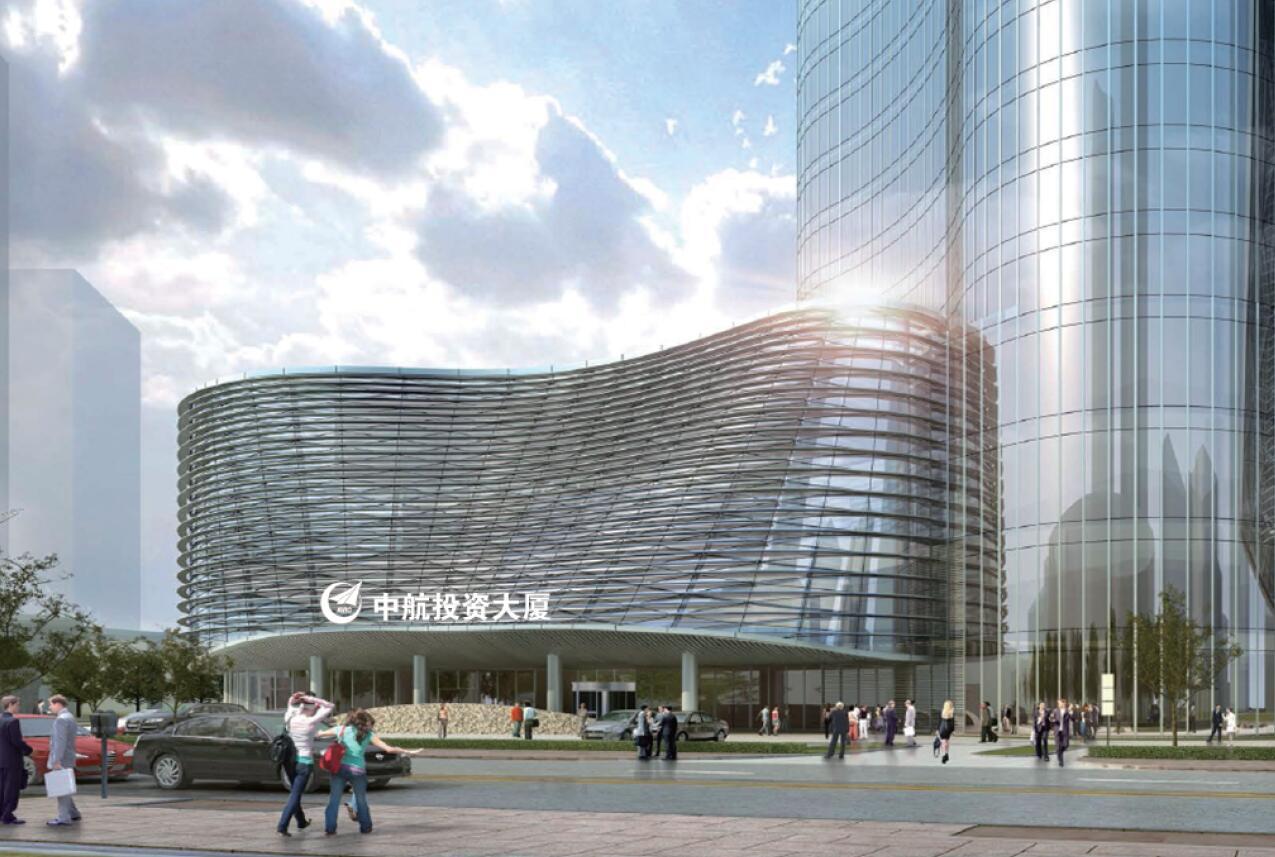 望京中航大厦导视系统设计
