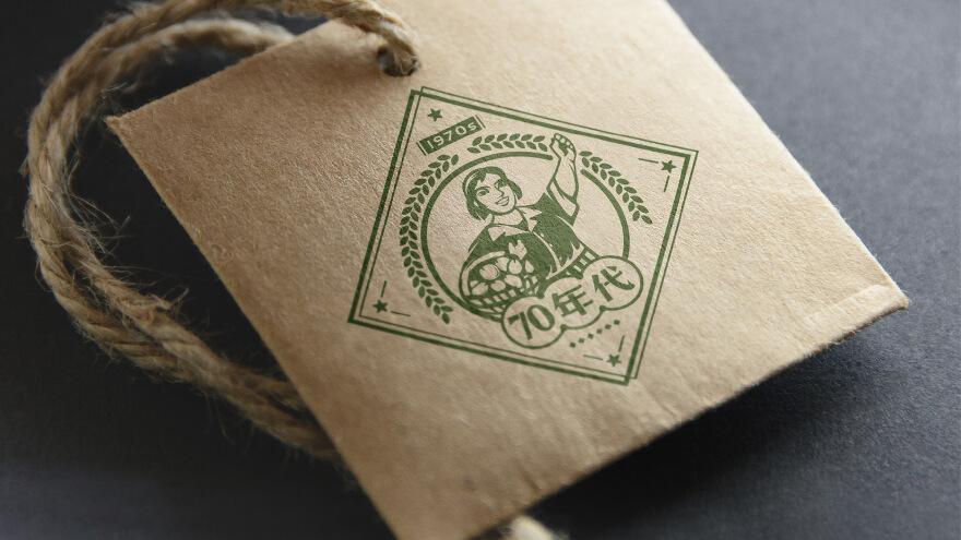 70年代农产品logo设计方案
