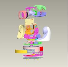 复杂机械结构,机械传动设计