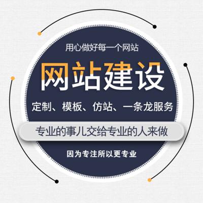 企业网站定制服务