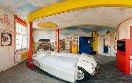 这样完美的主题酒店设计,想不吸引顾客进来住都难