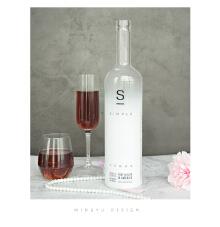 白S酒瓶设计