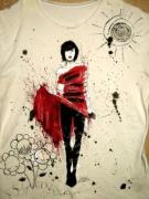 如何进行创意手绘T恤图案设计?个性时尚的T恤图案设计欣赏