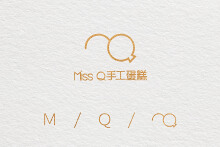 【MISS Q】蛋糕甜品 logo设计 vi设计 包装设计 品牌设计