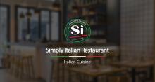 【Simply Italian】餐厅品牌设计 logo设计 VI设计 海报设计 网页设计