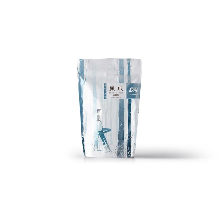 凤爪手绘包装袋设计一系列