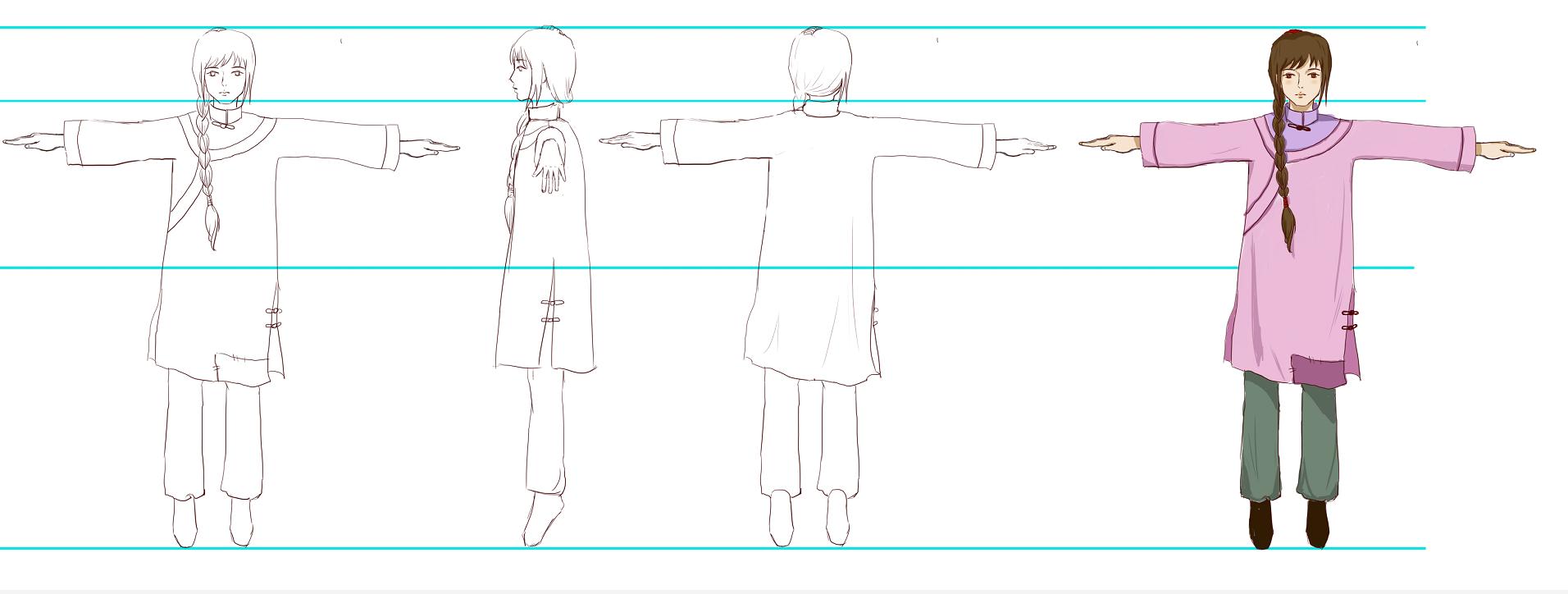 动画角色设计案例