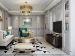 客厅怎么装修?2016现代简欧客厅装修效果图欣赏