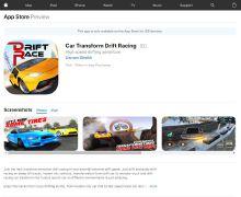 【Car Transform Drift Racing】IOS游戏开发