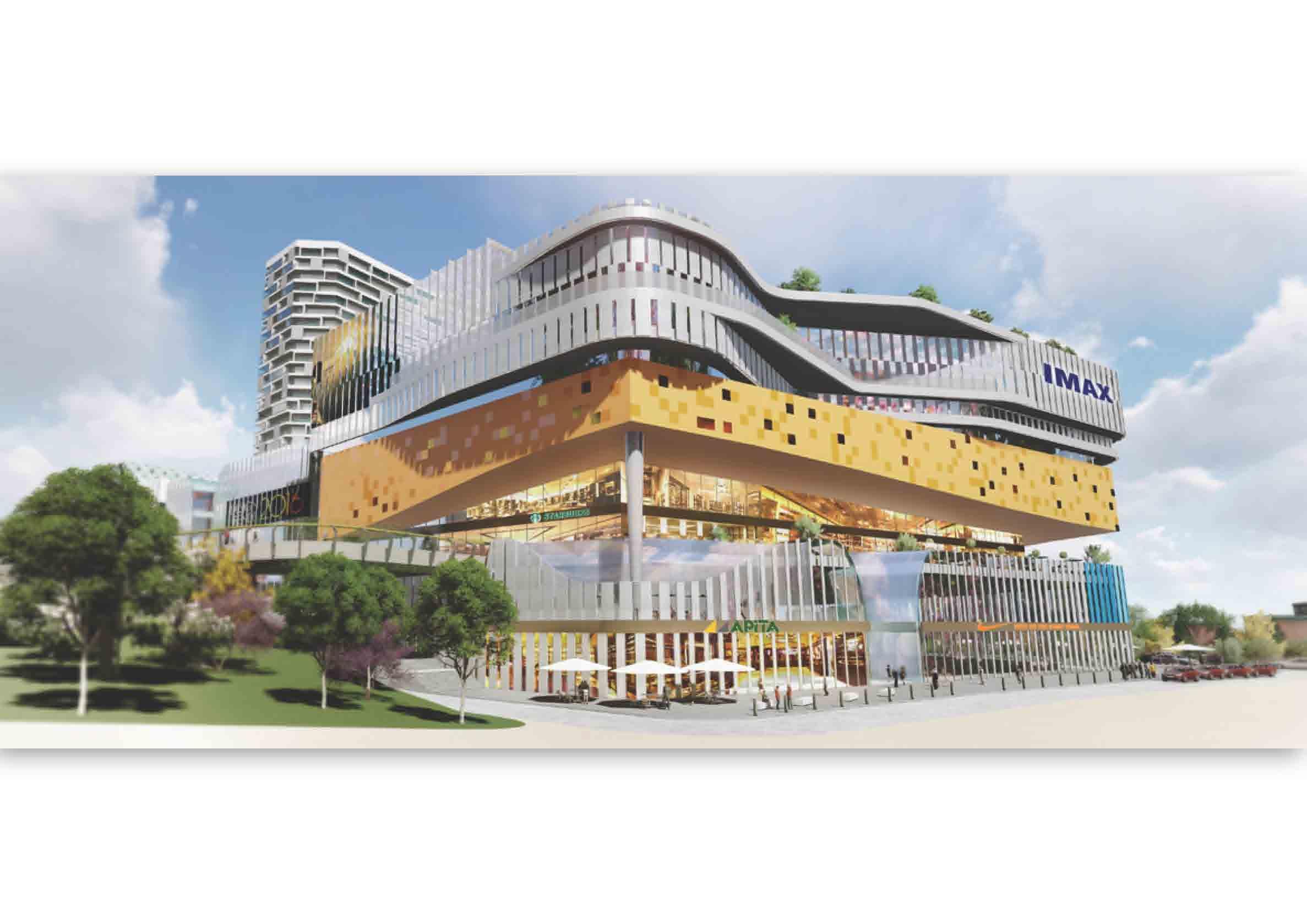 乌鲁木齐商业综合体建筑设计