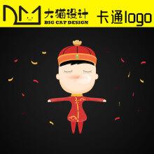 威客服务:[122469] 卡通logo设计企业卡通形象设计公司标志海报吉祥物设计