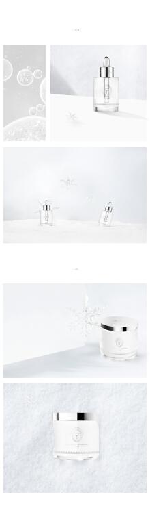 THE FACES护肤品牌冰雪礼盒包装设计