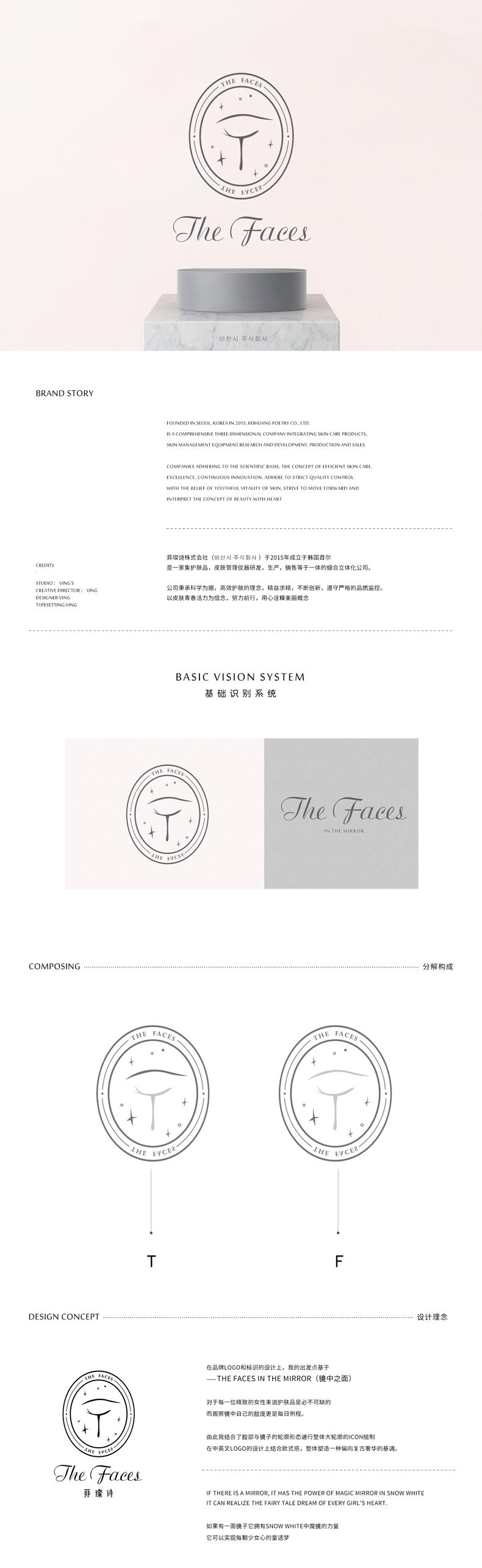 THE FACES品牌VI手册