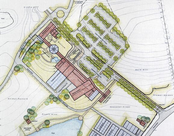 养殖场平面图怎么画?8组有借鉴意义的养殖场平面图设计欣赏