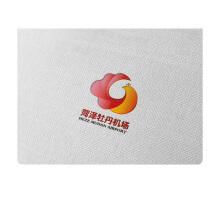 菏泽牡丹机场logo设计 VI设计