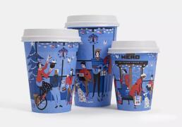 2019一组好看洋气的创意纸杯设计案例图片欣赏