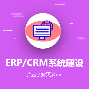 ERP / CRM 系统建设