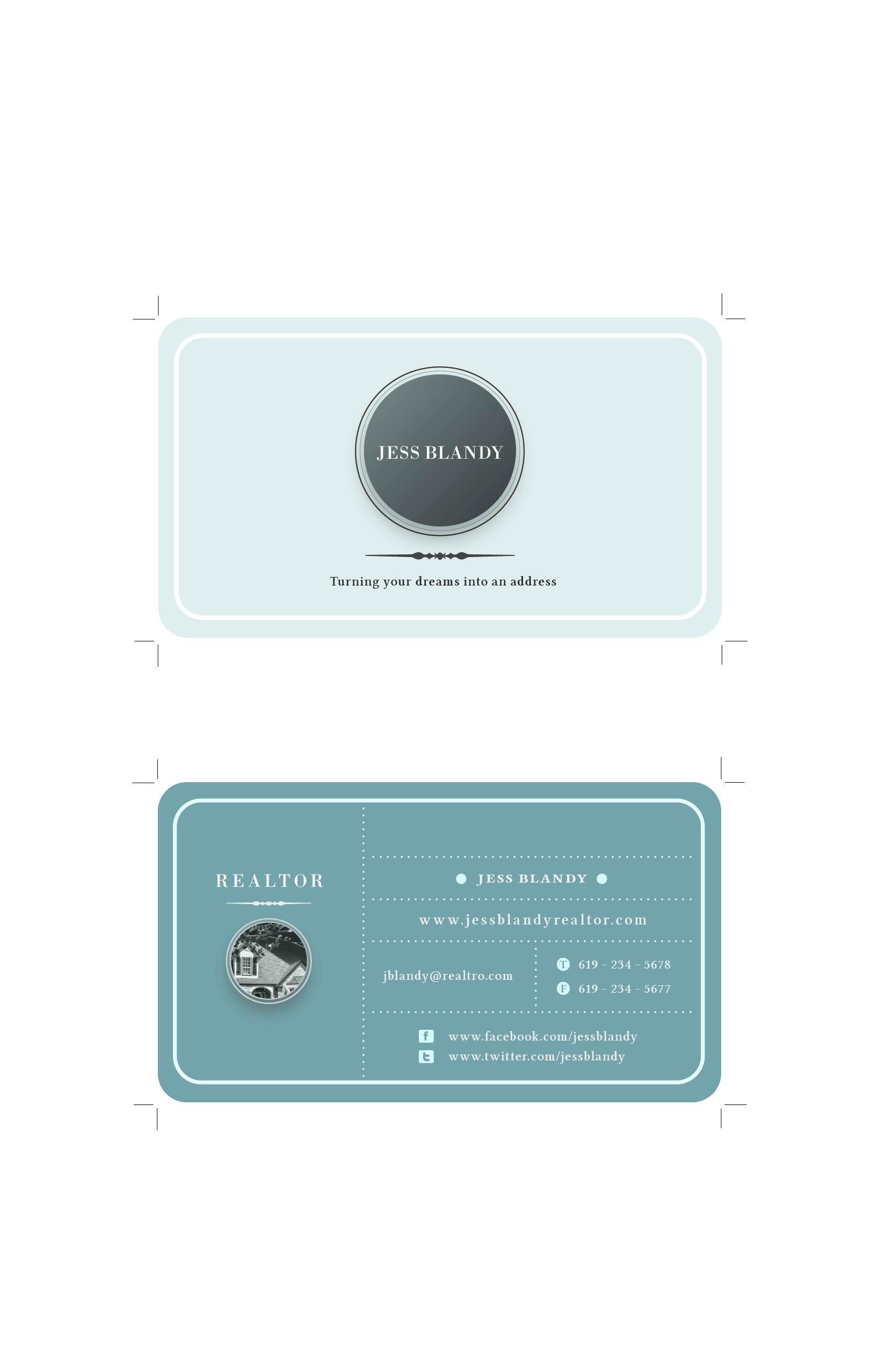 商务名片设计案例