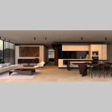 【3D建模】室内装房