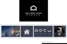【奥创智能空间】标志设计、SI设计