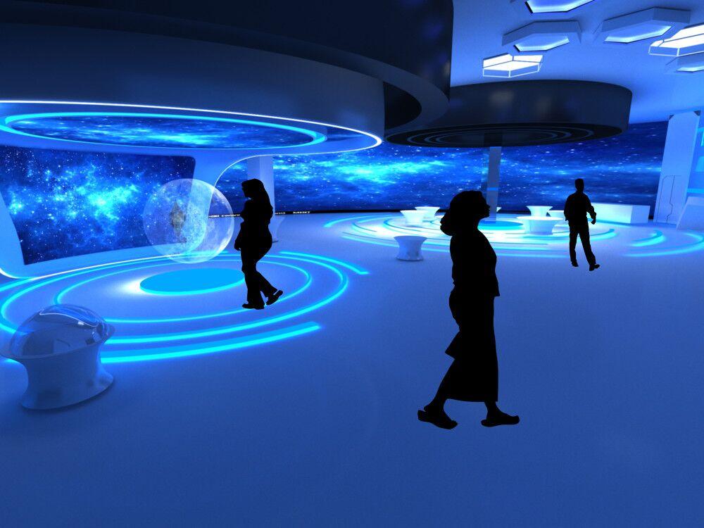 声音博物馆展厅效果图4