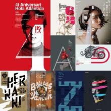 【拾月】朋友圈海报设计、户外海报设计、宣传单设计