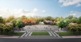 城市文化广场绿化设计