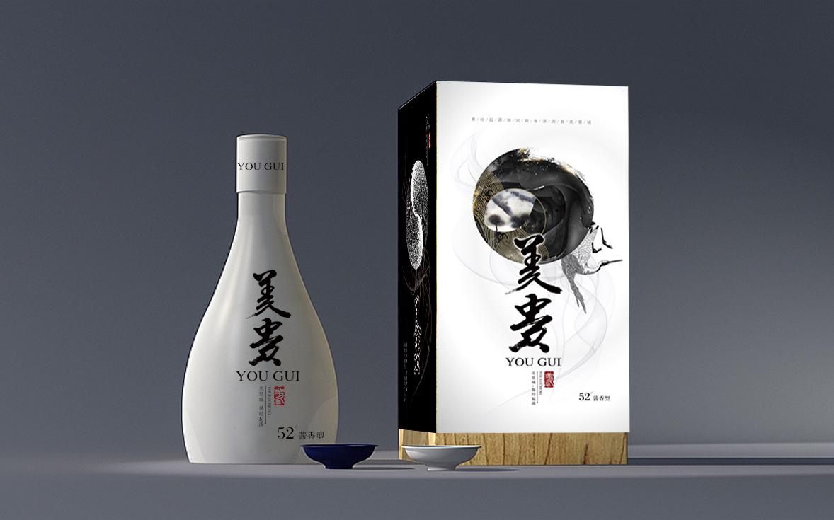 白酒礼盒包装