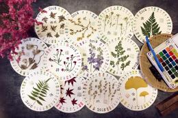 季节植物日历制作