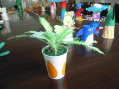 植物手工纸杯设计
