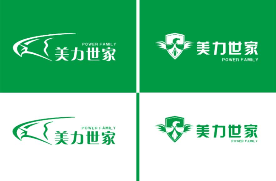 """""""美力世家""""公司logo設計"""