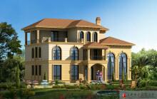 二层半欧式别墅建筑设计