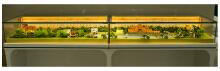 农行展柜微型景观设计