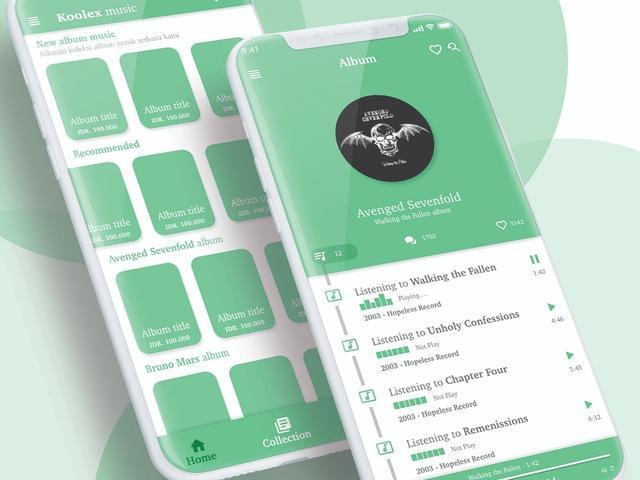 软件GUI界面设计欣赏