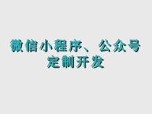 威客服务:[130861] 微信公众号、小程序定制开发