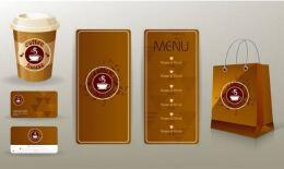 咖啡店vi手册设计