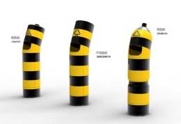 路障垃圾桶设计