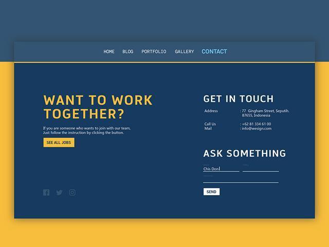 千万不要忽略网站的联系人页面设计